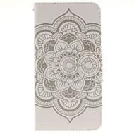 Недорогие Чехлы и кейсы для Galaxy A7(2016)-Для Кейс для  Samsung Galaxy Бумажник для карт / со стендом / Флип / С узором / Магнитный Кейс для Чехол Кейс для МандалаИскусственная