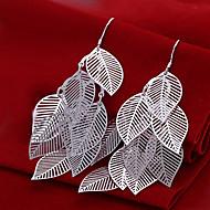 Χαμηλού Κόστους -Γυναικεία Πολυέλαιος Κρεμαστά Σκουλαρίκια Επάργυρο Σκουλαρίκια Κοσμήματα Ασημί Για