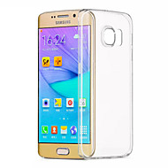 Til Samsung Galaxy S7 Edge Gjennomsiktig Etui Bakdeksel Etui Ensfarget TPU til Samsung S7 edge S7