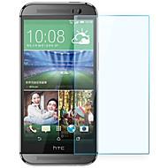 olcso Képernyő védők-robbanásbiztos prémium edzett üveg filmvászon védőburkolat 0,3 mm edzett membrán ív HTC One (M8)