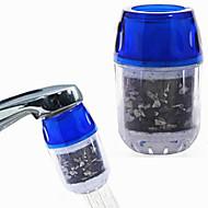 ドリンクコーヒー紅茶用(diameter1.5-2cm)水道蛇口のための1pcs活性炭水フィルタ、高度な交換