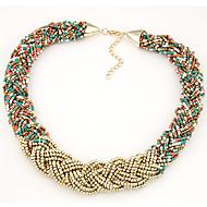 preiswerte -Damen Torques Stränge Halskette  -  Modisch Modische Halsketten Für Alltag Normal