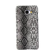 Недорогие Чехлы и кейсы для Galaxy A3(2016)-Кейс для Назначение SSamsung Galaxy Кейс для  Samsung Galaxy С узором Задняя крышка Плитка Искусственная кожа для A5(2016) A3(2016)