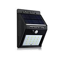 preiswerte LED Solarleuchten-1 Stück LED-Solarleuchten Solar Sensor / Wiederaufladbar / Wasserfest