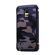 billige Etuier / covers til Galaxy Note-modellerne-Etui Til Samsung Galaxy Samsung Galaxy Note Stødsikker Bagcover Camouflage PC for Note 5 Note 4