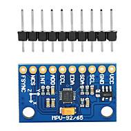 お買い得  Arduino 用アクセサリー-MPU-9255センサモジュール三軸ジャイロスコープ、加速度計、磁場GY-9255 GY-9150を置き換え