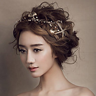 Женские золотые Seafish оголовье лоб волосы украшения для свадьбы