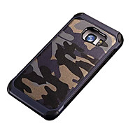 For Samsung Galaxy S7 Edge Stødsikker Mønster Etui Bagcover Etui Camouflage PC for SamsungS7 Active S7 plus S7 edge S7 S6 edge plus S6