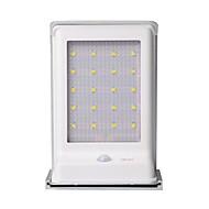 preiswerte LED Solarleuchten-1 Stück Dekorations Beleuchtung / LED-Solarleuchten Solar / Batterie Sensor / Wiederaufladbar / Wasserfest