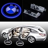 2stk førte bildør velkommen lys høflighed førte bil laser projektor logo spøgelse skygge lys til bmw logo magt dør lys