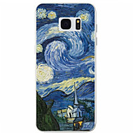 Для Samsung Galaxy S7 Edge С узором Кейс для Задняя крышка Кейс для Пейзаж TPU Samsung S7 edge / S7 / S6 / S5