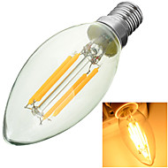 E14 LED Filament Bulbs Recessed Retrofit 4 COB 300-400lm Warm White Cold White 3000-6500K Decorative AC 220-240V