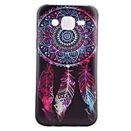 Varten Samsung Galaxy kotelo Kuvio Etui Takakuori Etui Unisieppari TPU Samsung J5 / J1 / Grand Prime / Core Prime