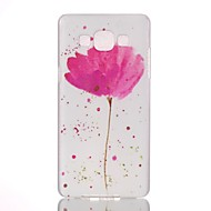 cheap Cases / Covers for Samsung-Case For Samsung Galaxy Samsung Galaxy Case Pattern Back Cover Flower PC for A7(2016) A5(2016) A3(2016) A5 A3