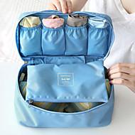 Poggyászrendező utazáshoz Helytakarékos kompressziós zsákok Hordozható Tárolási készlet Több funkciós mert Ruhák MELLTARTÓK Anyag / Utazás