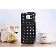tanie Galaxy S5 Mini Etui / Pokrowce-Kılıf Na Samsung Galaxy Samsung Galaxy Etui Stras Czarne etui Geometryczny wzór PC na S6 edge S6 S5 Mini S5 S4 Mini S4 S3