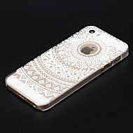 billige iPhone-etuier-Til iPhone X iPhone 8 iPhone 5 etui Etuier Transparent Mønster Bagcover Etui Mandala-mønster Hårdt PC for iPhone X iPhone 8 Plus iPhone 8