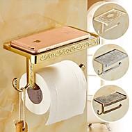 Toilet Paper Holder Robe Hook / Antique Bronze Zinc Alloy /Contemporary