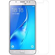 Недорогие Защитные пленки для Samsung-Защитная плёнка для экрана Samsung Galaxy для J5 (2016) PET Защитная пленка для экрана Против отпечатков пальцев