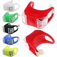 Cykellys,Forlygter / Baglygter / Hjul Lys / Sikkerhedslys 3 Tilstande Anden Lumen Vandtæt / Anti Skrid Knap Batteri x2 Knap Batterier