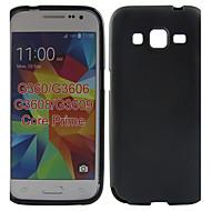 Для Кейс для  Samsung Galaxy Защита от удара Кейс для Задняя крышка Кейс для Один цвет TPU Samsung Core Prime