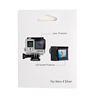 お買い得  スポーツカメラ & GoPro 用アクセサリー-液晶保護シート タッチスクリーン ために アクションカメラ Gopro 4 / Gopro 3+ オート / スノーモービル / 映画や音楽 アルミニウム合金 / ベルベット - 1 pcs