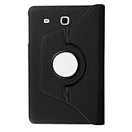 Недорогие Чехлы и кейсы для Galaxy Tab A 9.7-SHI CHENG DA Кейс для Назначение Tab S 10.5 / SSamsung Galaxy / Вкладка S2 9.7 Кейс для  Samsung Galaxy со стендом / Флип / Поворот на 360° Чехол Однотонный Кожа PU для Tab 4 10.1 / Tab E 9.6