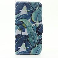 Недорогие Чехлы и кейсы для Galaxy A5(2016)-Кейс для Назначение SSamsung Galaxy Кейс для  Samsung Galaxy Бумажник для карт со стендом Флип Магнитный С узором Чехол  Перья Кожа PU для