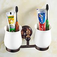 abordables Gadgets de Baño-Soporte para Cepillo de Dientes Gadget para Baño / Dorado Neoclásico