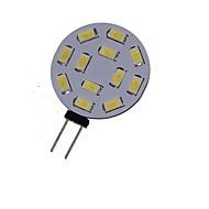 billiga -SENCART 1st 2 W LED-spotlights 3000-3500/6000-6500 lm G4 MR11 12 LED-pärlor SMD 5730 Dekorativ Varmvit Kallvit 12 V 24 V / 1 st / RoHs