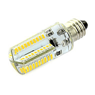 E11 LED-lampa T 80 lysdioder SMD 3014 Varmvit Kallvit 320-360lm 3000-3500/6000-6500K AC 220-240V