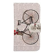 Для Кейс для  Samsung Galaxy Бумажник для карт / Кошелек / со стендом / Флип Кейс для Чехол Кейс для Мультяшная тематикаИскусственная