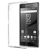 preiswerte Handyhüllen-Hülle Für Sony Z5 / Sony Xperia Z3 / Sony Xperia Z3 Compact Xperia Z5 / Xperia Z3 / Sony Hülle Ultra dünn / Transparent Rückseite Solide Weich TPU für Sony Xperia Z2 / Sony Xperia Z3 / Sony Xperia Z3