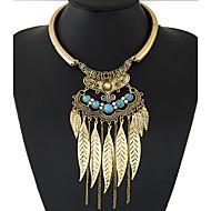 cheap Jewelry & Watches-Women's Tassel / Bib Statement Necklace - Tassel, European, Fashion Gold, Silver Necklace For