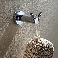 お買い得  浴室用小物-バスローブフック 高品質 コンテンポラリー ステンレス鋼 1枚 - ホテルバス 壁式