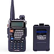preiswerte -BAOFENG UV-5RB Funkgerät Tragbar digital Sprachansage Dual - Band Dual - Anzeige Dual - Standby CTCSS/CDCSS LCD FM-Radio 1.5 km -3 km