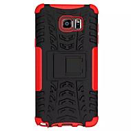 Pentru Samsung Galaxy Note Anti Șoc / Cu Stand Maska Carcasă Spate Maska Armură PC Samsung Note 5 Edge / Note 5 / Note 4 / Note 3