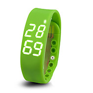 Датчик для отслеживания активности / Смарт-браслетМедобеспечение / Спорт / Израсходовано калорий / Температурный дисплей / Защита от