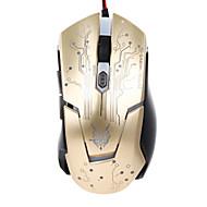 お買い得  マウス-ケーブル ゲーミングマウス 調整可能DPI バックライト 6 USB Port 動力