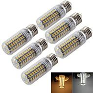 お買い得  LED コーン型電球-e14 e26 / e27 ledコーンライトt 72 smd 5730 300lm暖かい白冷たい白色3000k / 6000k装飾的なAC 220-240 ac 110-130v