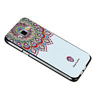 Для Кейс для  Samsung Galaxy С узором Кейс для Задняя крышка Кейс для Цветы TPU Samsung A8