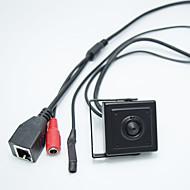お買い得  -hd 1.0mp onvif h.264 p2p携帯電話監視cctvミニipカメラ2.8mmピンホールレンズ隠しカメラ