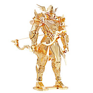 tanie Zabawki & hobby-Puzzle Zabawki 3D / Metalowe puzzle Cegiełki DIY Zabawki Wojownik Metal Zielnony Model / klocki