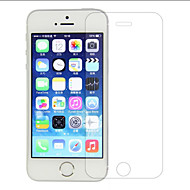 abordables Accesorios de Cámaras y Foto-Protector de pantalla Apple para iPhone 6s Plus iPhone 6 Plus iPhone SE/5s Vidrio Templado 1 pieza Protector de Pantalla Frontal Borde
