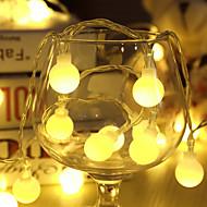 olcso LEDszalagfények-10 méteres led lámpa fények 80led ball ac220v ünnepi dekoráció lámpa fesztivál fények kültéri világítás