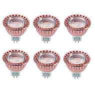 GU5.3(MR16) Focos LED MR16 1 COB 700-850 lm Blanco Cálido Blanco Fresco 2800-3200/6000-6500 K Regulable Decorativa DC 12 AC 12 V