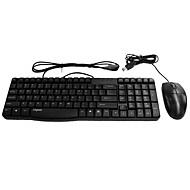 x120 rapoo bedrade muis en toetsenbord set