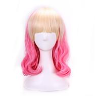 Недорогие Парики из искусственных волос-жен. Парики из искусственных волос Естественные волны Розовый Волосы с окрашиванием омбре Парик Лолита Парики к костюмам
