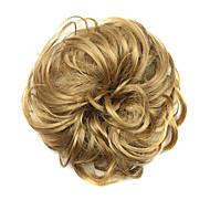 Недорогие Парики-Шиньоны Парики из искусственных волос Кудрявый Классика Updo Высокое качество Стрижка каскад Жен. Парики для косплей Короткие