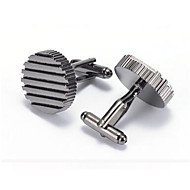 cheap Cufflinks-Black Cufflinks Alloy Work / Casual Men's Costume Jewelry For